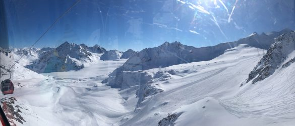 Pitztal - view from cable car