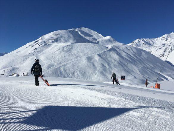 Riflsee ski slopes