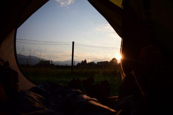 camping, Liptovská Kokava, Slovakia