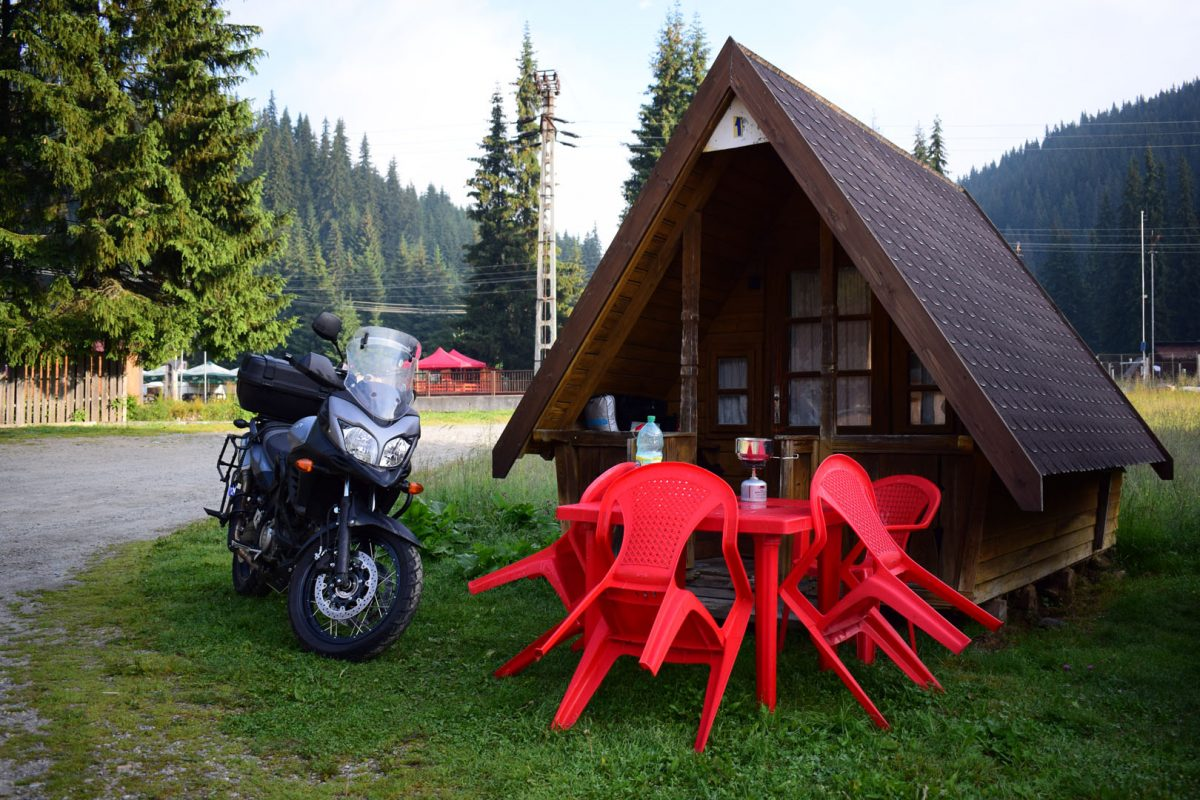 accomodation 1. day - Transalpina