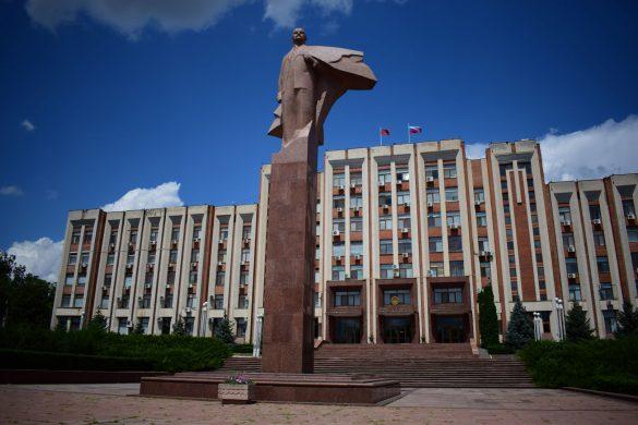 Lenin-sculpture, Tiraspol, Transnistria