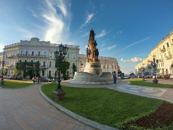 Monument to Catherine the Great and Founders of Odessa