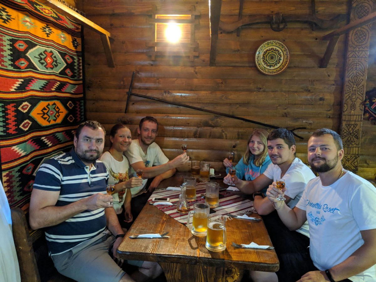tasting alcohol in Ukraine