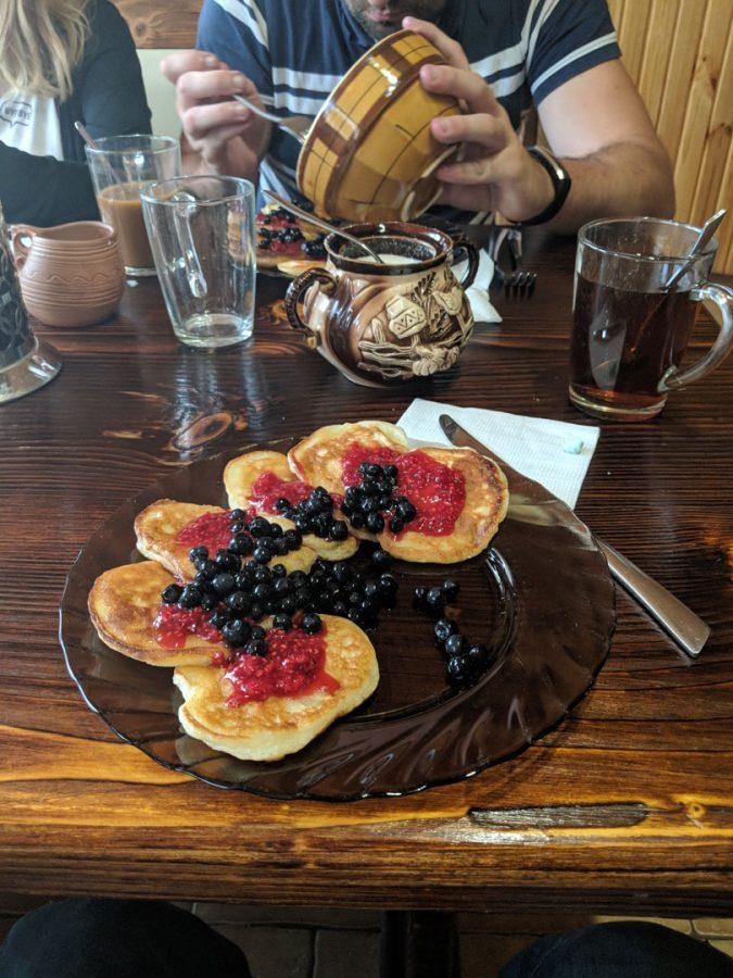 breakfast Kosiv