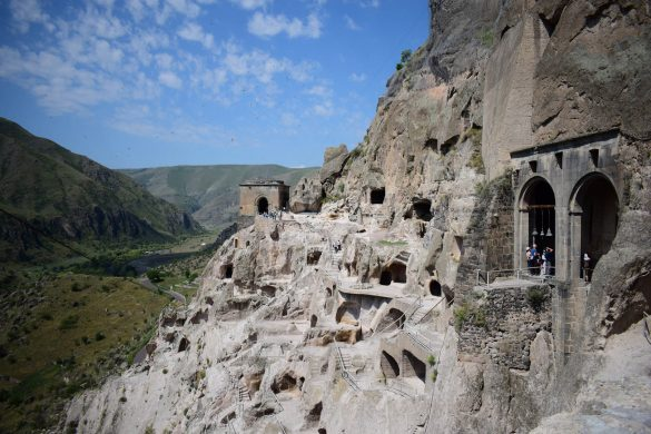kamenné mesto Vardzia, Gruzínsko