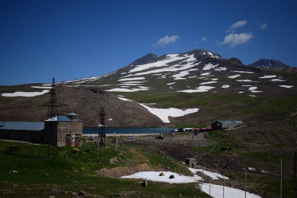 výskumná stanica Aragac (3 199 m n.m.)