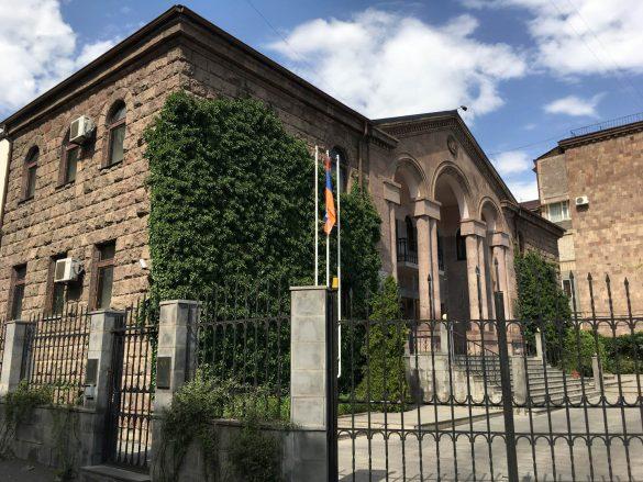 Ambasáda Náhorného Karabachu v Jerevane, Arménsko