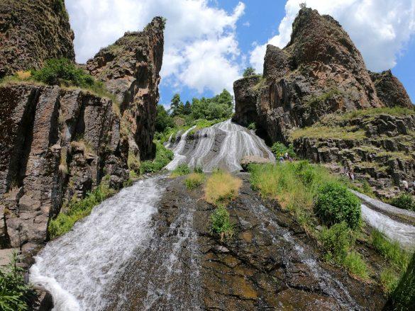 vodopád Jermuk, Arménsko