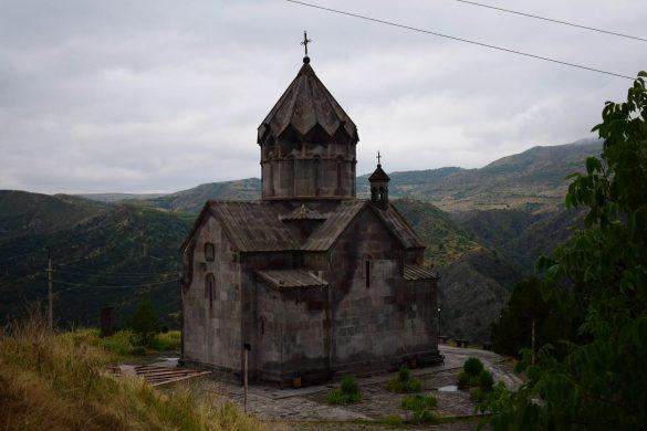 kláštor v Náhornom Karabachu