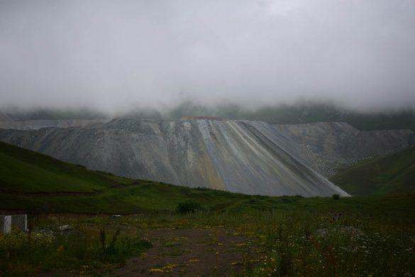zlatá baňa - Sotk pass, Arménsko