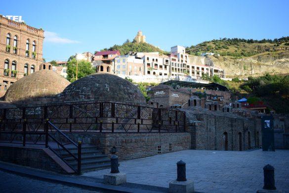 kúpele v Tbilisi, Gruzínsko