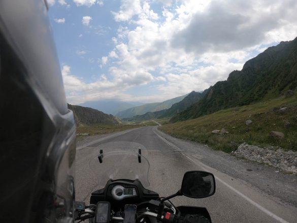 Jvari pass, Gruzínsko