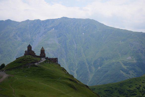 kostol Gergeti, Gruzínsko