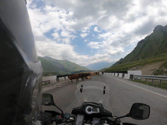cestou na Gruzínsko - Ruské hranice