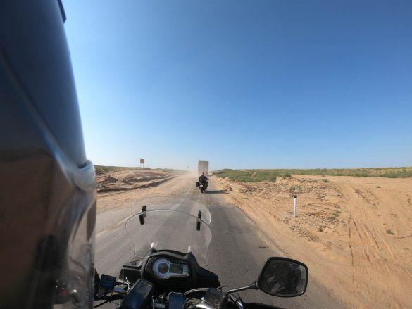 cestou do Astrachanu, Rusko