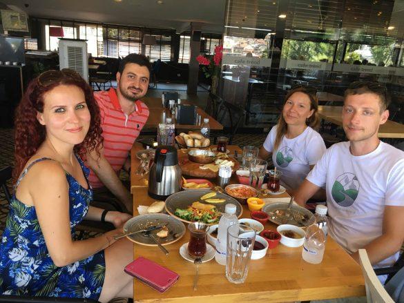 Tradičné turecké raňajky