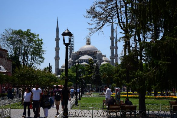 Modrá mešita v Istanbule, Turecko