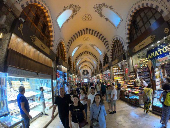 Veľký bazár - Istanbul, Turecko