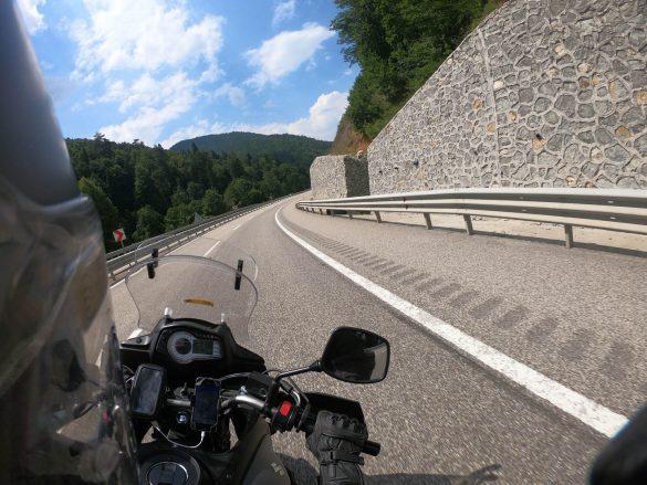 diaľnica na severe Turecka