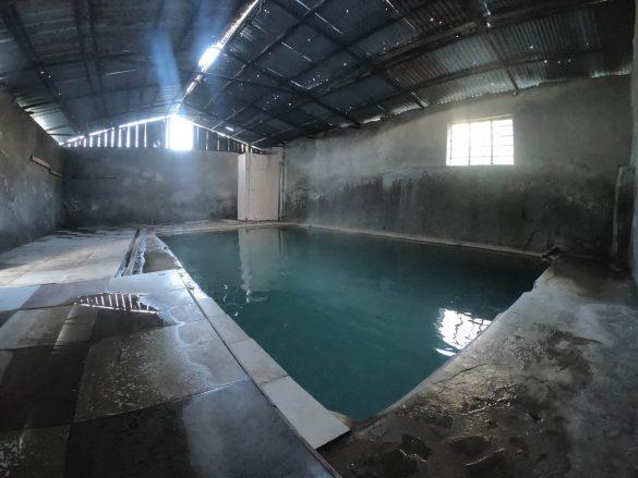 termálny bazén pri Vardzii, Gruzínsko