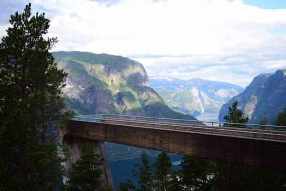 vyhliadka Stegastein, Nórsko