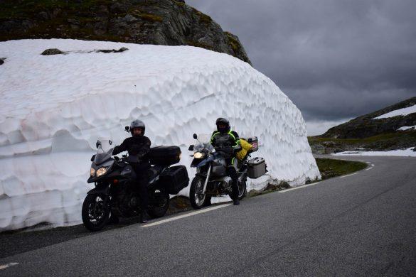 horský priechod Aurlandsfjellet, Nórsko