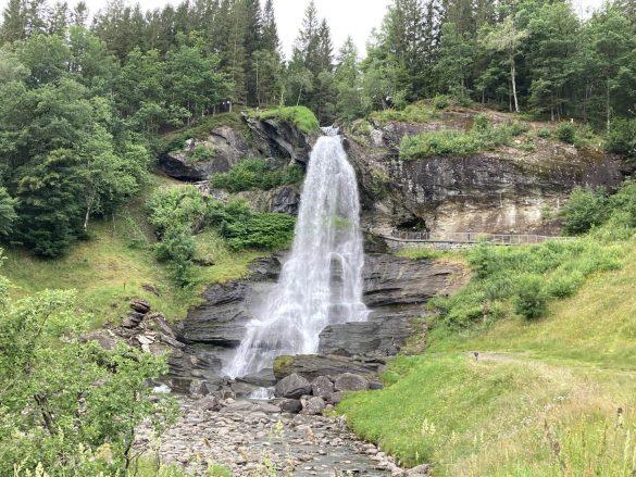 vodopád Steinsdalsfossen, Nórsko