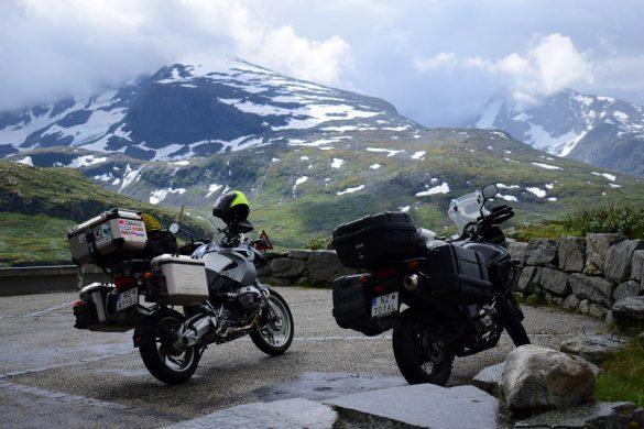 horský priechod Sognefjellet, Nórsko