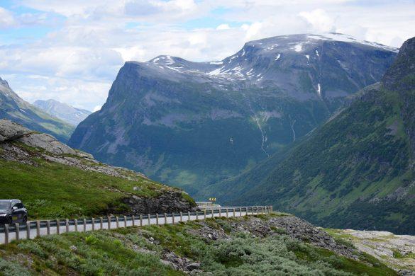 horský priechod Geiranger, Nórsko