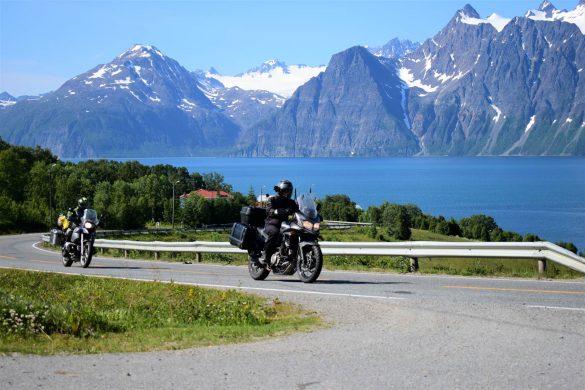 cestou na Nordkapp, Nórsko