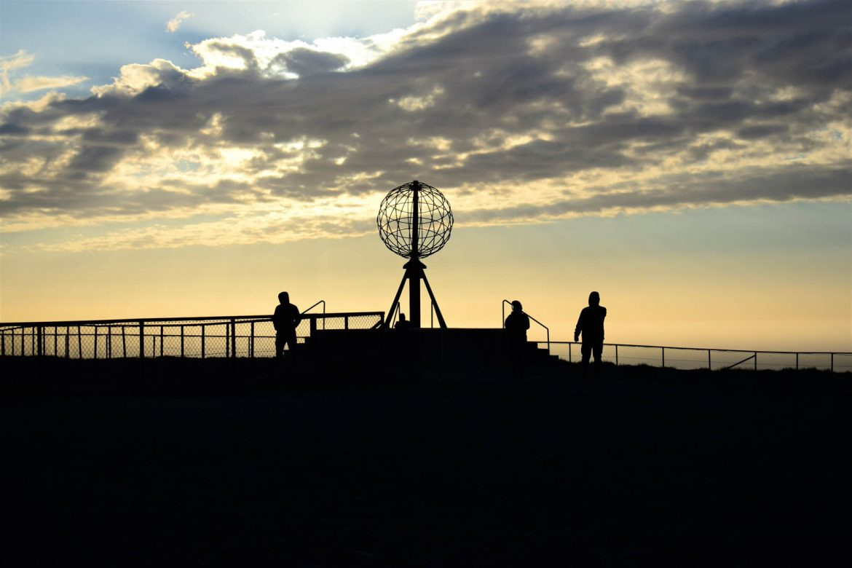 glóbus na Nordkappe, Nórsko