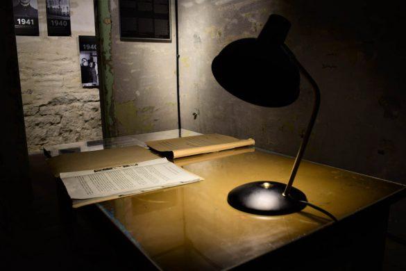 múzeum väzenských ciel KGB v Taline, Estónsko