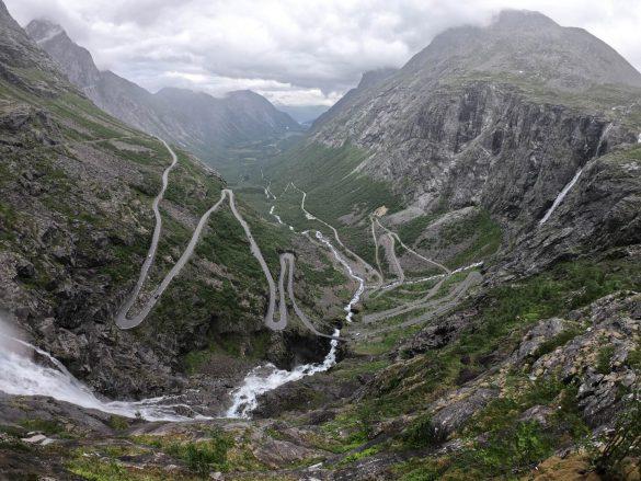 Trolia cesta (Trollstigen), Nórsko