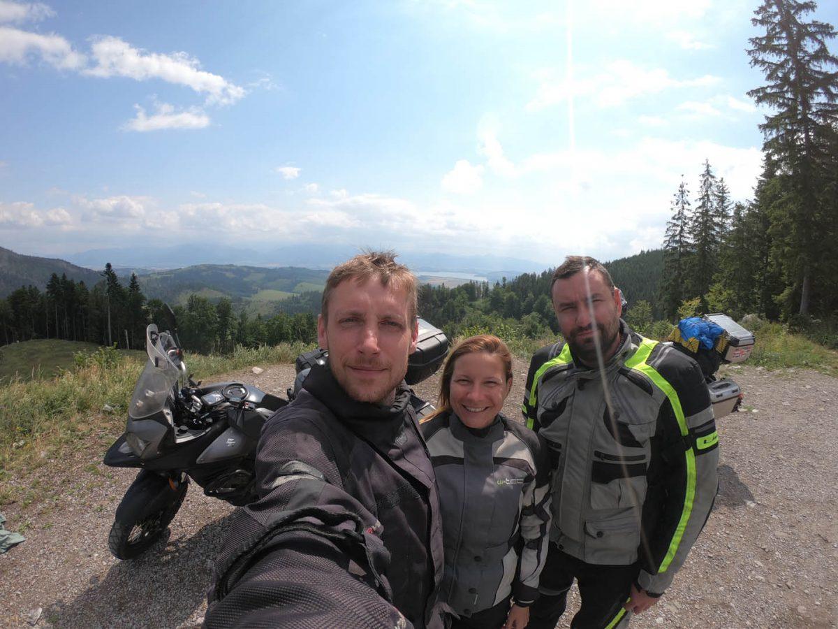 horský priechod Huty, Slovensko