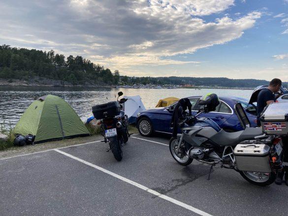 Kemp na voľno - Hoysand, Nórsko