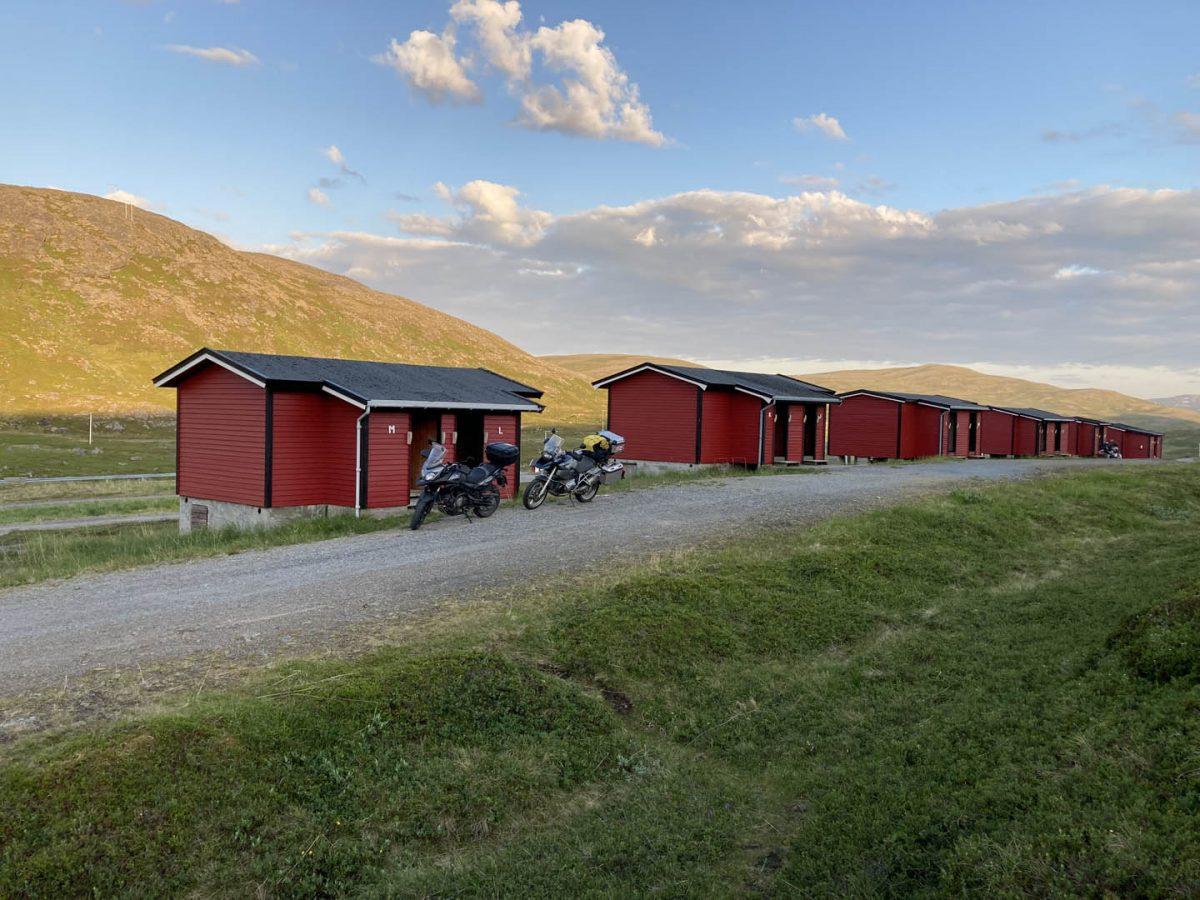 chatky v Midnattsol Camping, Nórsko