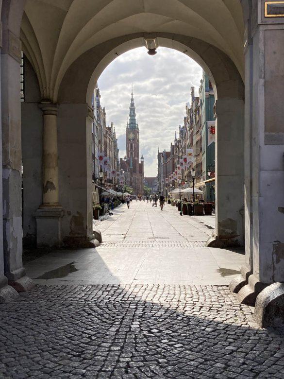 Gdaňsk - Ulica Długa, Poľsko