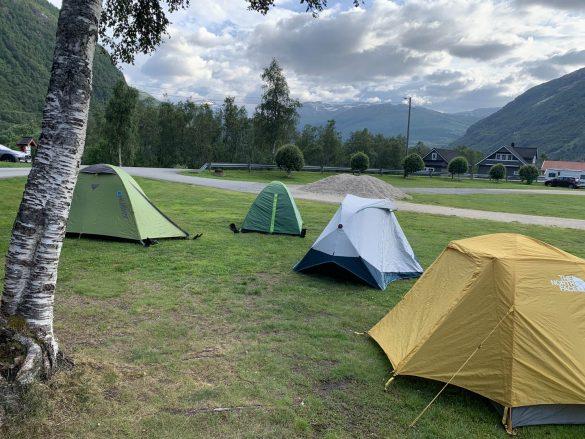 oficiálny kemp - Røldal, Nórsko